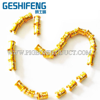 free shipping 100pc 3mm canary ring free color bands with crimping standard size ring