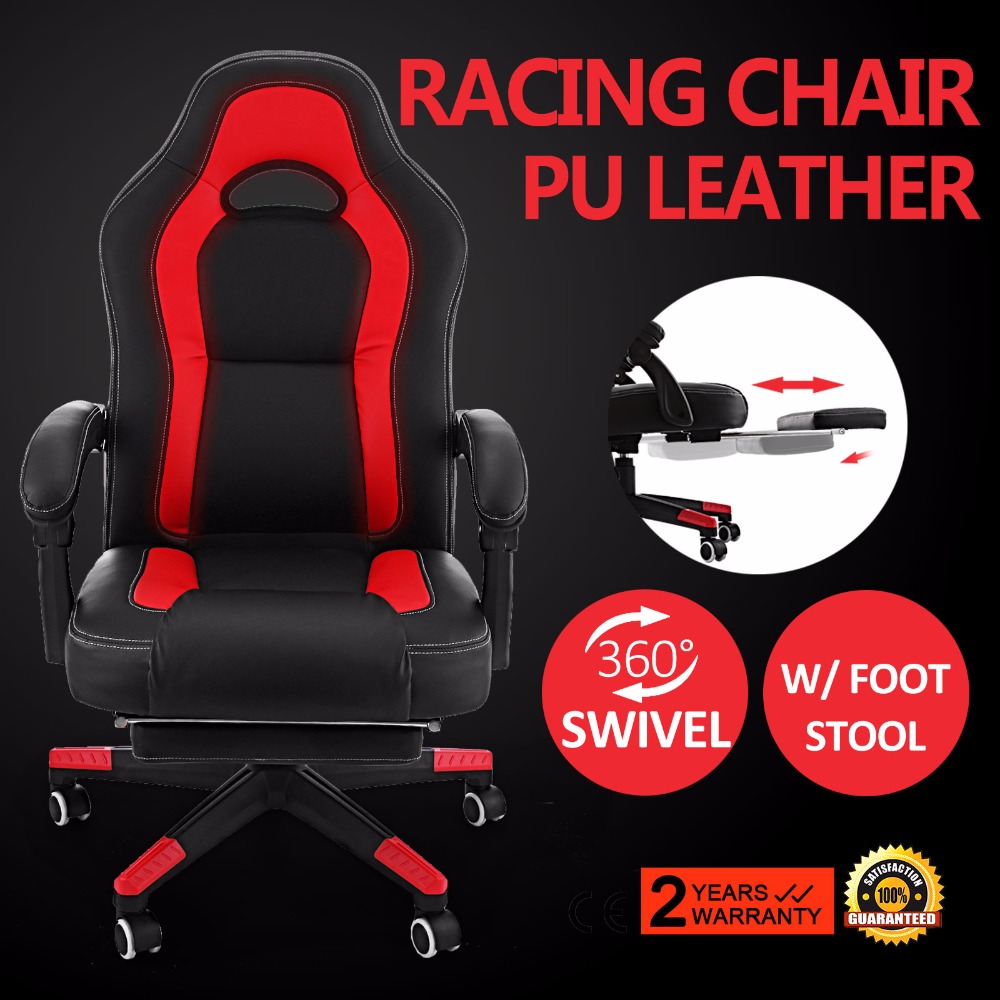 PU Leather High Back Gaming Seat Sport Racing Executive Computer Office  Chair In Tool Parts From Tools On Aliexpress.com | Alibaba Group