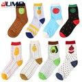 2015 New Arrival Fruit men women socks Fashion Casual Harajuku Cute Style cotton Pineapple Pattern watermelon socks