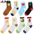 2015 New Arrival Harajuku Estilo Bonito de Frutas meias das mulheres dos homens de Moda Casual de algodão meias Padrão Abacaxi melancia