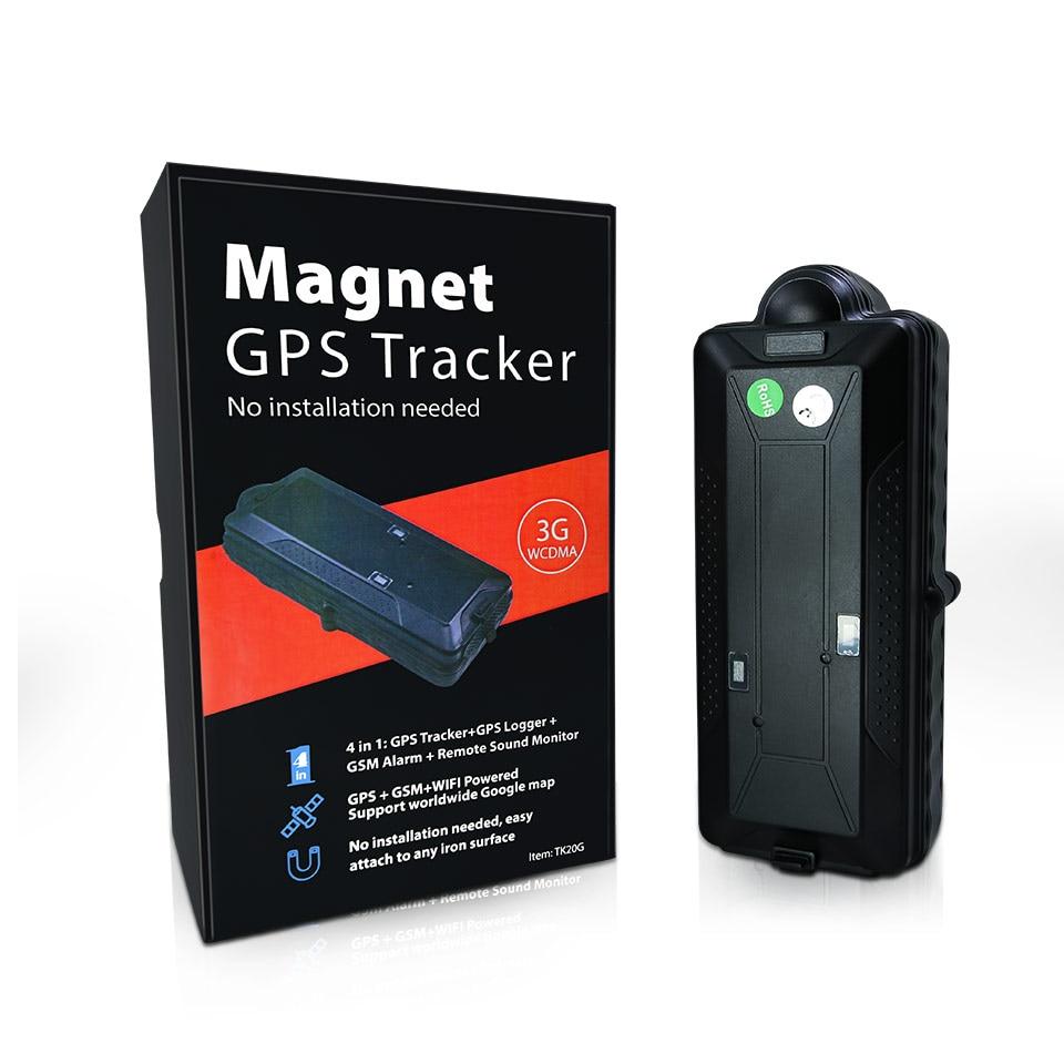 VJOYCAR TK20 20000mAh Մագնիսական WiFi GPS Tracker SD - Ավտոմեքենաների էլեկտրոնիկա - Լուսանկար 6