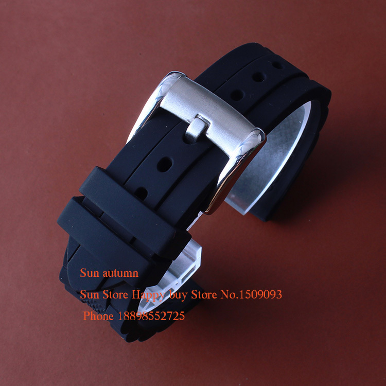 20MM 23mm Men/Women Rubber Watchbands,Waterproof Silicone,Solide Steel Silver Deployment Clasp,Watch Band Strap Free Shipping gossip свитер