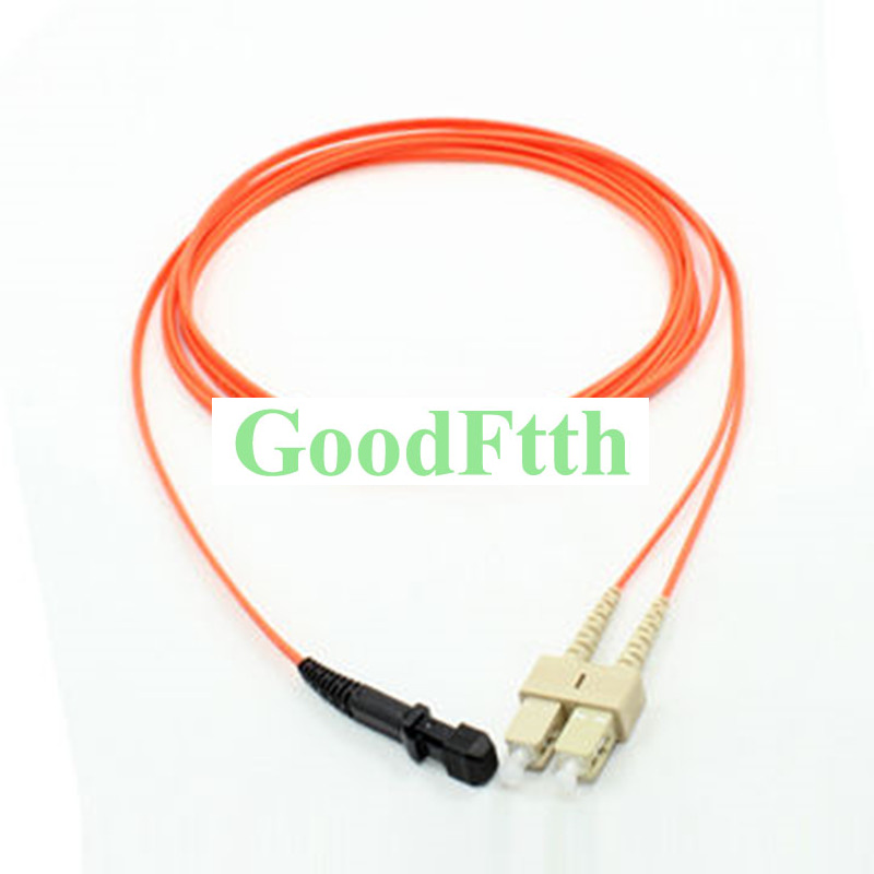 Fiber Optic Patch Cord Jumper MTRJ-SC Multimode 62.5/125 OM1 Duplex GoodFtth 20-100m