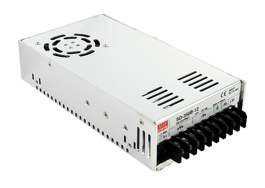 цена на [PowerNex] MEAN WELL original SD-350B-12 12V 27.5A meanwell SD-350 12V 330W Single Output DC-DC Converter