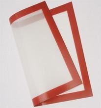 DIY300 * 400*0,8mm Glasfaser silikonbackmatte Rollen-teig Matte ofen liner plätzchenbacken silpat backen blatt