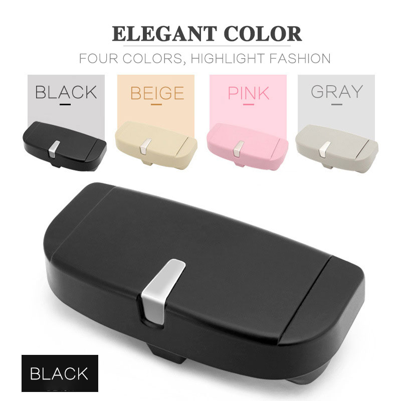 Glasses Case Holder Multifunctional Eyeglass Case Box The Holder For Glasses In The Car Universal Sunglasses Holder Accessories edcgear 4 in 1 multifunctional lighter holder