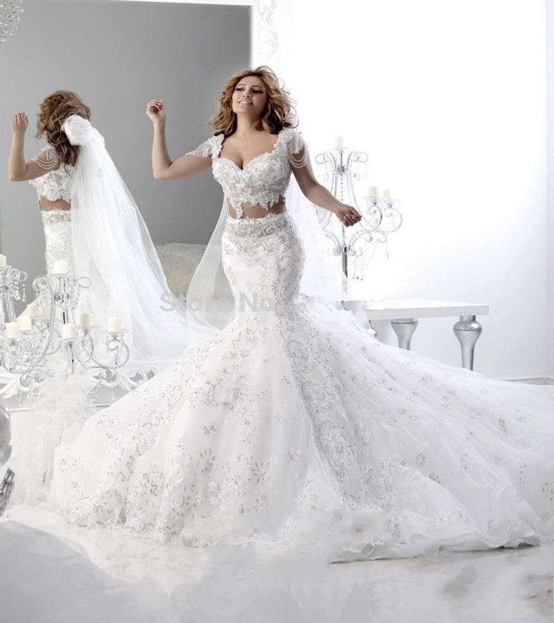 Mermaid Wedding Dresses With Train And BlingWedding Dressesdressesss - Bling Mermaid Wedding Dress