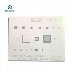 PHONEFIX AMAOE BGA matryca do reballingu MSM8974 MSM8274 dla Xiaomi Mi4 3 3S naprawa telefonu naprawa BGA matryca do reballingu s szablon w Zestawy narzędzi ręcznych od Narzędzia na