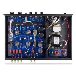Image 5 - Nobsound dernier haut de gamme vide 12AT7 12AU7 Tube pré amplificateur stéréo Hi Fi bureau Audio préampli