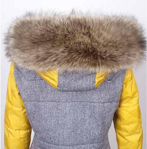 Осень и зима женщин Искусственного меха воротник cap лисий мех большой воротник енот меховой воротник глушитель шарф мыс утолщаются теплый шарф