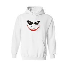 Classic Smiling Joker White with xxxl Hoodies Batman Hoody Black with Hooded Sweatshirt Women Brand 2016 Fashion Navy Blue