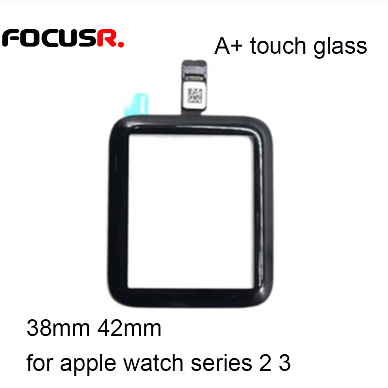 High Quality 38mm 42mm Touch Screen Digitizer Sensor Glass Lens Panel For Apple Watch series 2