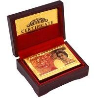 جديد أوراق الذهب احباط مطلي بطاقة بوكر تكساس هولدم بوكر pokerstars مضحك عالية الجودة الرياضة القمار مع الخشب مربع