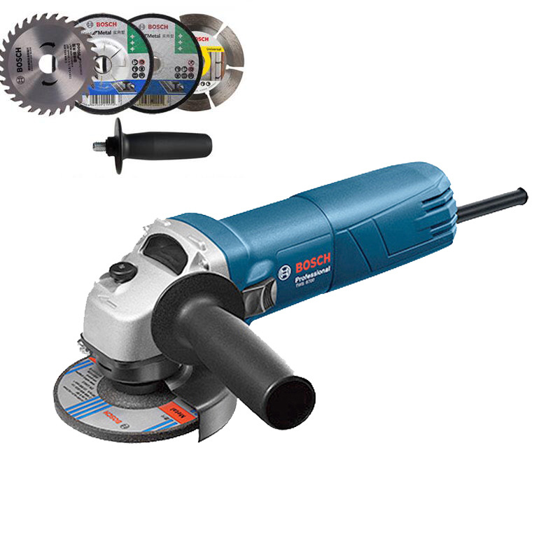 220V Electric angle grinder Hand Milling Grinding cutting Polishing Machine 4 100mm 660W bear 220 v hand held electric blender multifunctional household grinding meat mincing juicer machine