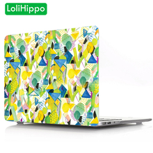LoliHippo Creativity Series Laptop Protective Case for Apple Macbook Air Pro 11 12 13.3 15 Inch Notebook Cover for A1534 A1990
