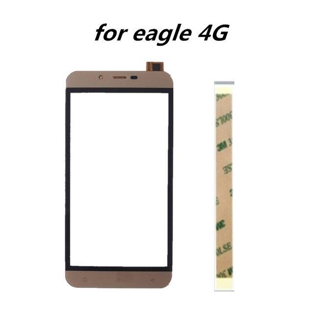 Pantalla táctil de 5,0 pulgadas para teléfono móvil, piezas de repuesto para Pantalla táctil frontal de reparación de digitalizador Vertex Impress Eagle 4G