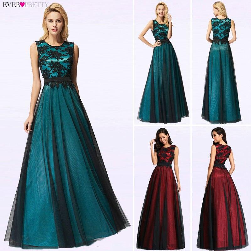 Vestido de Festa Longo Real Photo Lace Appliques Long Evening Dresses 2019 Cheap Evening Party Dresses Robe De Soiree Longue