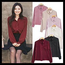 Women-Blouses-Shirt-Long-Sleeve-Casual-Chiffon-Turn-down-Collar-Solid-Women-Tops-Korean-Vogue-Shirt