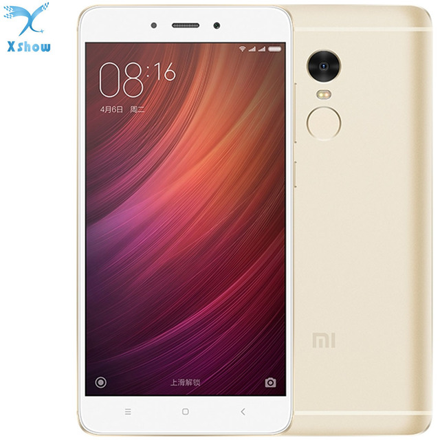 "brand new  Original Xiaomi Redmi note 4 MTK Helio X20 2GB RAM 16GB ROM Deca Core 5.5 "" 1080P MIUI 8 Fingerprint ID note4"