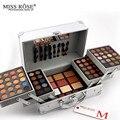 Miss rose sombra de olho placa moda feminina cosmetic bag makeup palette concealer blush makeup artist dedicado caixa de maquiagem