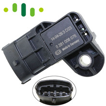 Map Sensor For Chevrolet Cruze Sonic 1.4L Vauxhall Opel Astra Insignia 1.3 1.4 1.7 2.0 0281006076 1235029 55568175