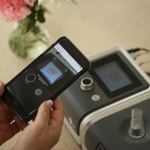 Image 3 - BMC аппарат искусственного дыхания Reslex путешествия Портативный с проветривание носовые набивная Маска Мешок шланга дыхательный аппарат для апноэ сна терапии