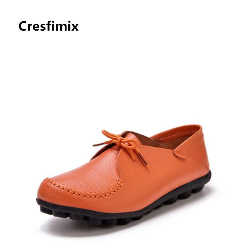 Hasta Encaje Planos e c Mujeres Y Cresfimix Cuero Reales Lindo Chaussures A Verano b Primavera Cómodo De Pour Femmes d Mujer Zapatos A2121 0zAYq