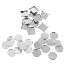 10pcs Empty Eyeshadow Palette Powder Pans Pot Storage Responsive to Magnets #35/27W(China)