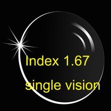 1,67 hoch index Asphärische einstärken (UV400) HMC/super dünne/anti-reflektierende und anti-scratch 005