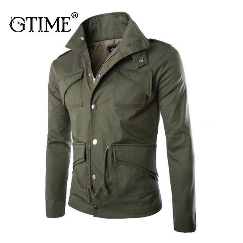Pour Commerce Élégant Qualité Veste Tempérament lavande Coton Hommes Vestes army Britannique Noir Yjh229 Gtime Mince De Haute Militaire Green Armée 0w7gvg