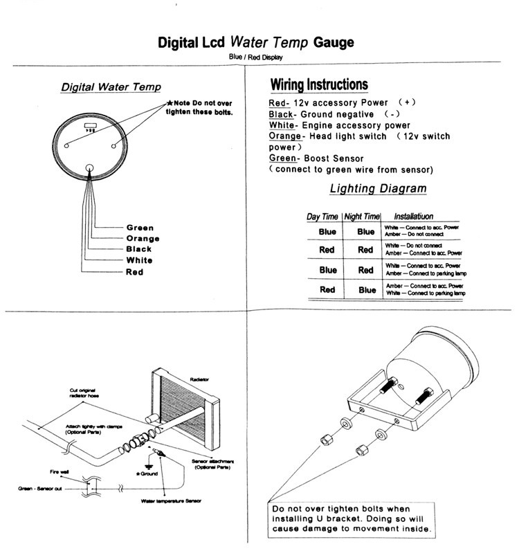 wiring diagram for car temp gauge image collections wiring diagram sample and guide autometer water temp gauge wiring diagram saas water temp gauge wiring diagram
