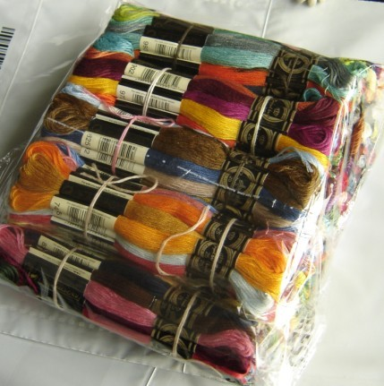 JCS Cross Stitch Threads  Royal Thread Choose Any Colors Total 100 Pieces Similar DMC Cross Stitch Floss Embroidery Thread