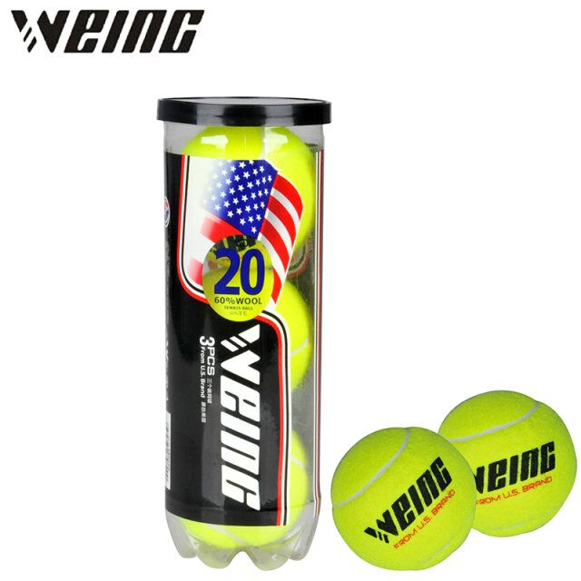 WEING Tennis Outdoor Sports Tennis Accessories Three Balls