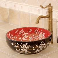 Varios porcelana hermosa decoración cerámica baño inodoro lavabo