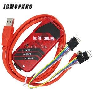 Микроконтроллер PICKIT3.5 PIC KIT3.5 PICKIT 3,5, 5 комплектов, программист, автономное программирование, имитация микроконтроллера, чип Монополия