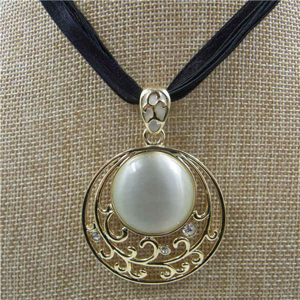 2015 new designs natural cats eye stone pendant necklace opal gold 2015 new designs natural cats eye stone pendant necklace opal gold crystal jewelry for women ladies mozeypictures Images