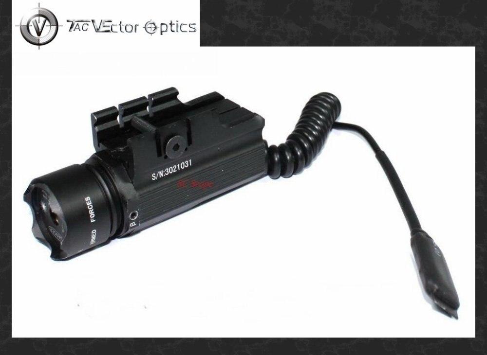 Vector Optics Pistol 20-30mW Green Laser Sight Visible Beam Scope w/ Cree P4 LED Flashlight Adapter установка оптического прицела vector optics scra 53