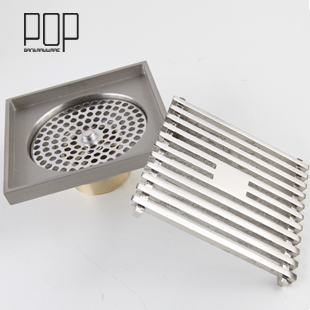 Free Shipping Bathroom Anti Odor Floor Drain Core Thickening Outdoor Drain  Cover
