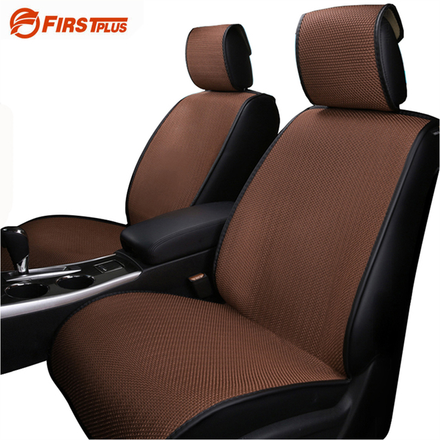 2 x Breathable Mesh Car Seat Covers Pad Four Season Fashion Front ...