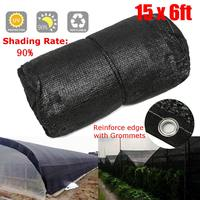 4.5x1.8M 90% Shade Cloth Net Sunscreen Sunblock Anti UV for Garden Plants Vegetables Cover Greenhouse Patio Orchard Sunshade Net