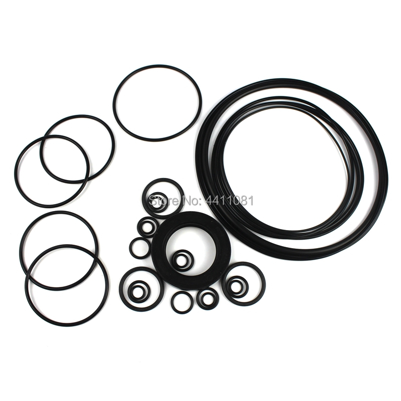For Komatsu PC220 8 Hydraulic Pump Seal Repair Service Kit Excavator Oil Seals, 3 month warranty