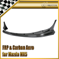 Car-styling For Mazda MX5 1989-1997 NA Miata Roadster RB Style Carbon Fiber Wide-body Front Lip In Stock