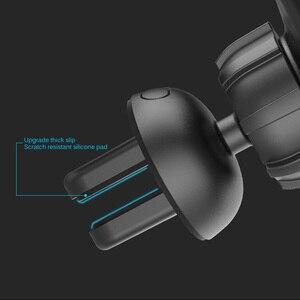 Image 5 - Drahtlose Schnelle Ladegerät BQ004 Induktion Auto Montieren Schnelle Drahtlose Lade Auto Telefon Halter Standard Air Outlet Nano Saug Halterung