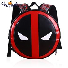 Unisex Deadpool Backpacks Super Hero Bags Mochila Masculina Adult Kids Deadpool2 Schoolbag Halloween Prop For Birthday Gift(China)