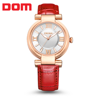 Dom Watch The Trend Of Female Waterproof Strap Ladies Watch Quartz Watch Women S Fashion Table