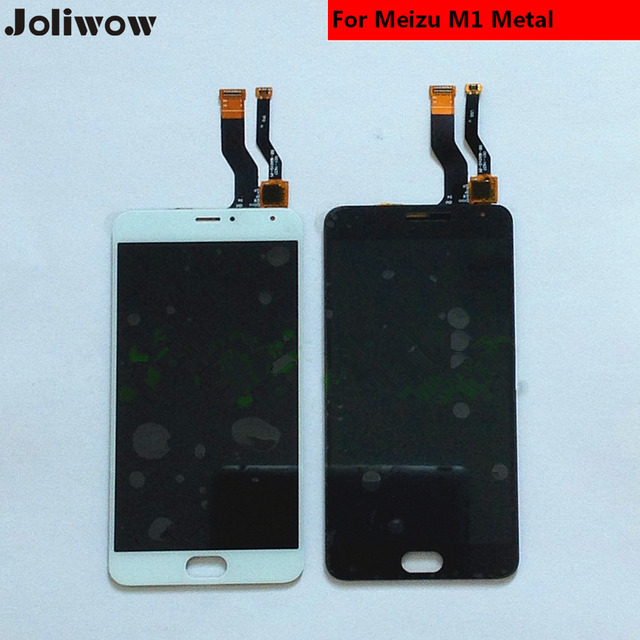 For Meizu M1 Metal LCD Display+Touch Screen+Tools tested Digitizer Glass Lens Assembly Replacement