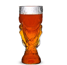 Novelty Beer Steins Glasses Crystal The Football World Cup Design Glass Wine Beer Cup