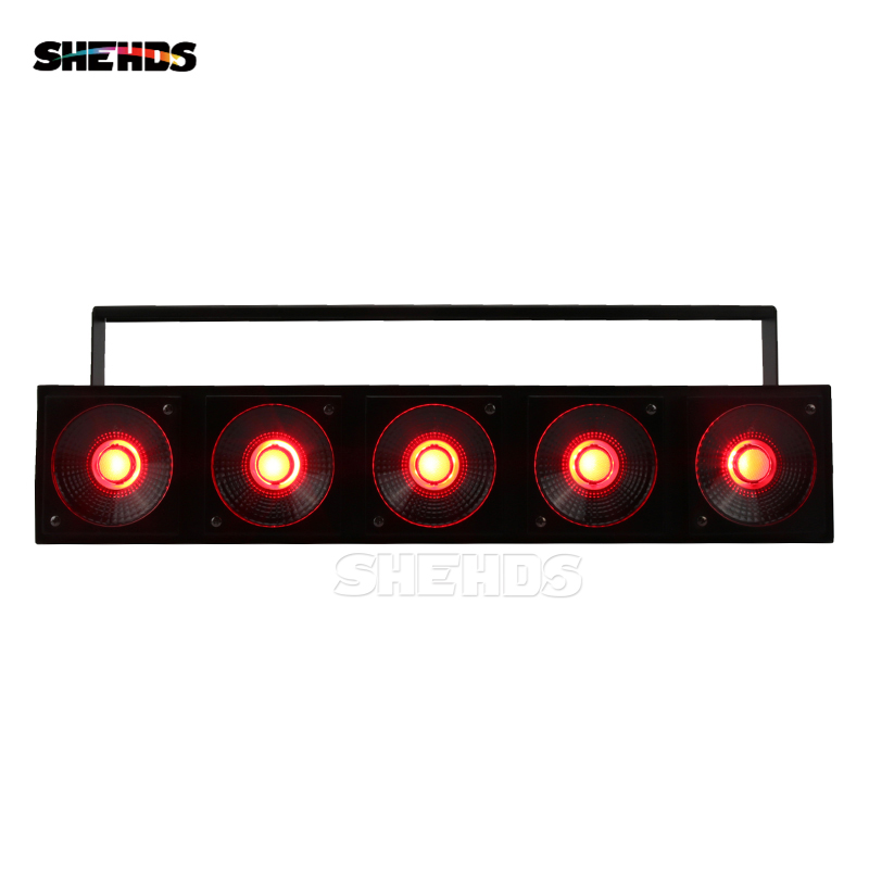 6 pcs/lot LED 5x30W RGB Light LED Matrix Lighting DMX512 Controller Good Efeect DJ Equipment Disco Night SHEHDS Stage Lighting цена