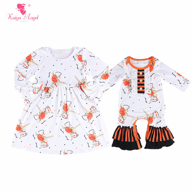 36e383f559e8 Kaiya Angel 2018 Hot Sales Baby Girls Unicorn Print Romper Toddler Long  Sleeve Fall Style Jumpsuit Boys Brithday Party Outfits