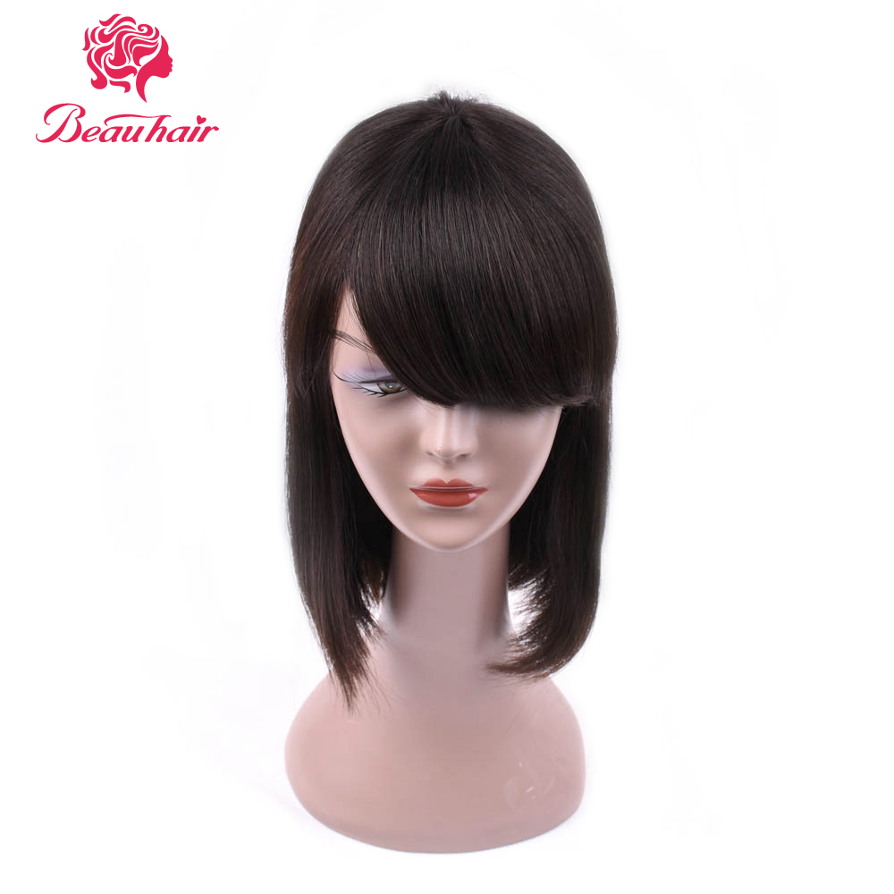 Long Straight None Lace Human Hair Wigs For Women Natural Color Brazilian Non Remy Human Hair Wigs Free Shipping